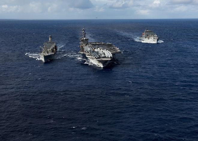 Chuyên gia VN: Mỹ điều tàu sân bay tuần tra Biển Đông cho thấy quyết tâm nói là làm - Ảnh 1.