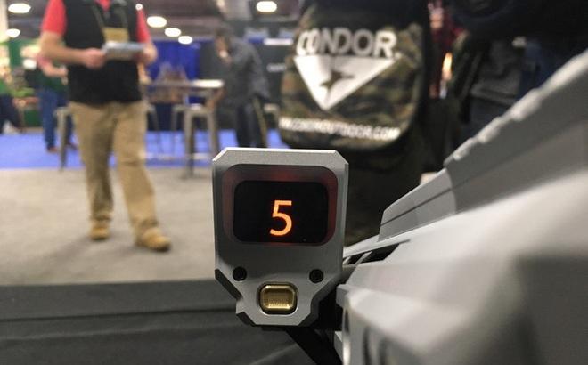 Bộ đếm đạn điện tử dành cho súng AR-15