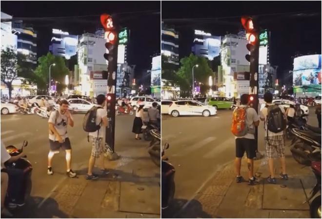 Hai vị khách Tây và sự xấu hổ dành cho những ai vượt đèn đỏ - Ảnh 1.