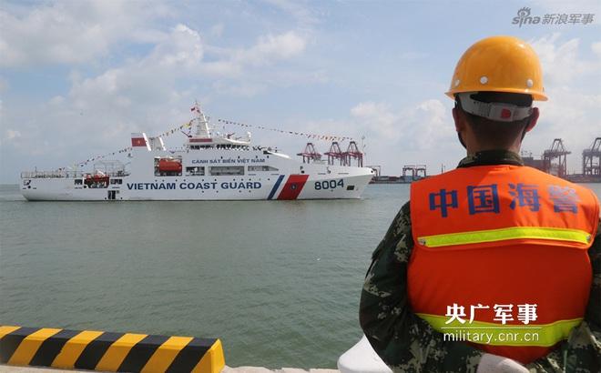 Báo Trung Quốc quan tâm tới chuyến thăm của tàu CSB 8004 Việt Nam