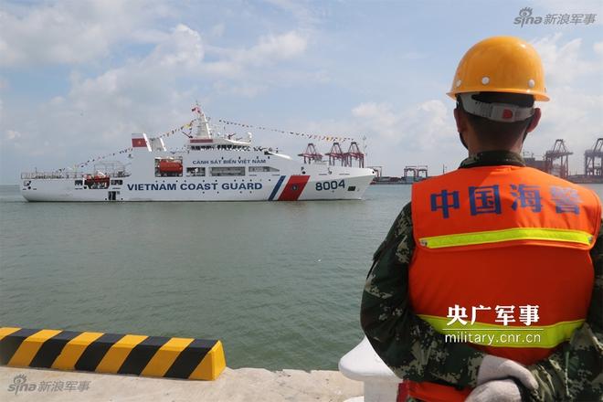 Báo Trung Quốc quan tâm tới chuyến thăm của tàu CSB 8004 Việt Nam - Ảnh 1.