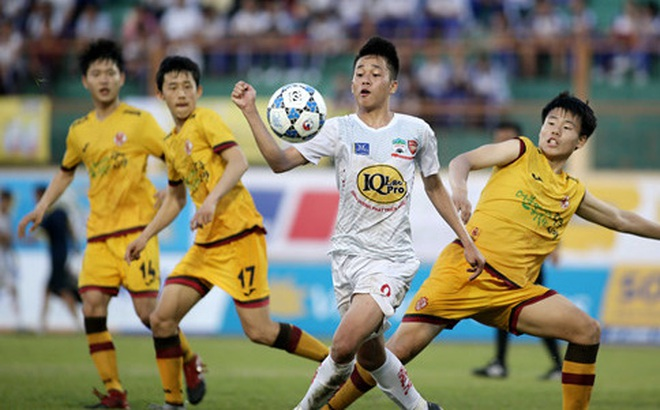 U19 HAGL đại thắng Đài Bắc Trung Hoa trong trận cầu như trò chơi điện tử