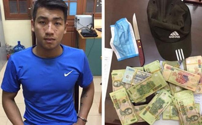 Chân dung kẻ thiếu tiền vào ngân hàng cướp 200 triệu đồng ở Bắc Ninh