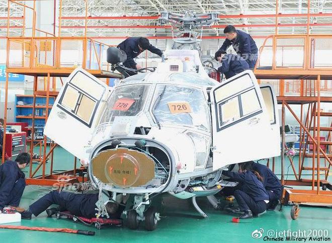 Radar đa năng KLC-3B trang bị cho trực thăng hạm tàu Z-9D