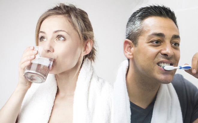 Đánh răng hay uống nước trước sau khi ngủ dậy vào sáng sớm? Câu hỏi đến 90% người trả lời sai