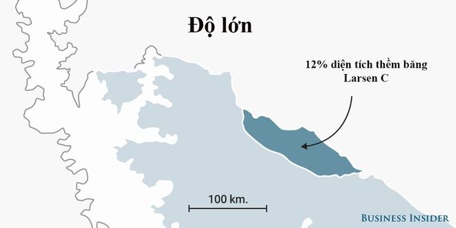 Tảng băng trôi lớn nhất trong lịch sử vừa đứt gãy nặng gấp 20 lần trọng lượng tàu Titanic - ảnh 5