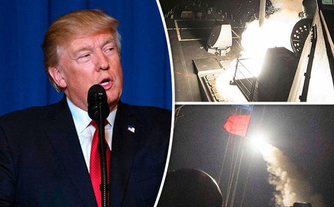 Hậu trường đằng sau quyết định tấn công Syria của ông Trump