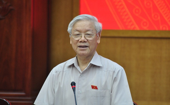 """Tổng Bí thư Nguyễn Phú Trọng: Xử lý ông Đinh La Thăng """"mới chỉ về mặt Đảng"""""""