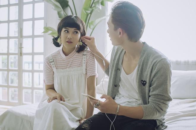 Hoàng Yến Chibi tự tin diễn cảnh khóa môi với đồng nghiệp điển trai - Ảnh 5.