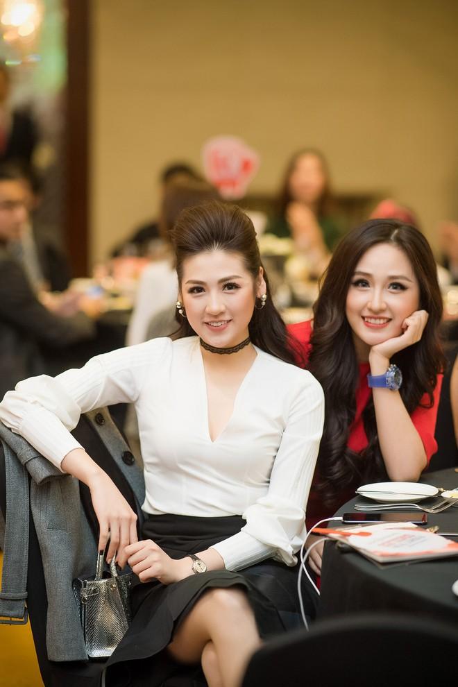 Nhan sắc nổi bật của Á hậu Tú Anh và Hoa hậu Mai Phương Thúy tại sự kiện - Ảnh 1.