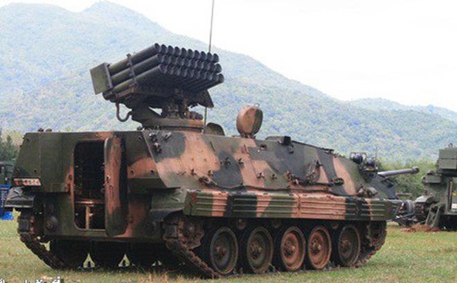 Phương án chế tạo pháo phản lực phóng loạt tự hành từ xe thiết giáp K-63 lưu kho