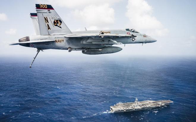 Ba tàu sân bay Mỹ hội tụ: Thông điệp không dành riêng cho Triều Tiên