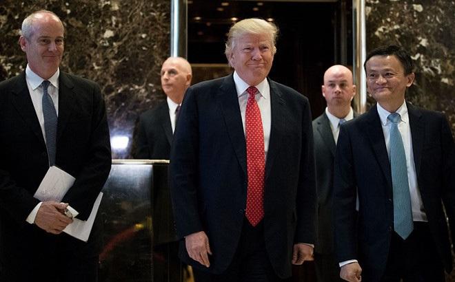 Trump đón tỷ phú Jack Ma, bàn chuyện tạo một triệu việc làm