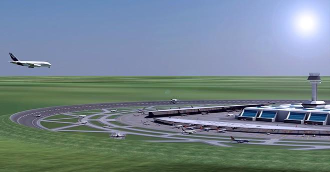 Hà Lan công bố mô hình sân bay độc nhất vô nhị, lần đầu xuất hiện trên thế giới - Ảnh 3.