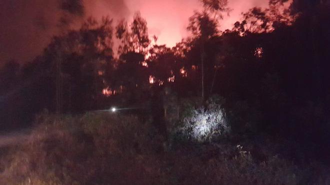 Hà Nội: Hơn 2000 người trắng đêm khống chế vụ cháy rừng lớn nhất, lâu nhất trong lịch sử - Ảnh 12.