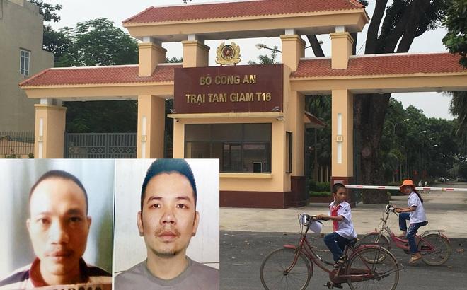 Truy nã toàn quốc 2 tử tù vừa trốn khỏi trại tạm giam Bộ Công an