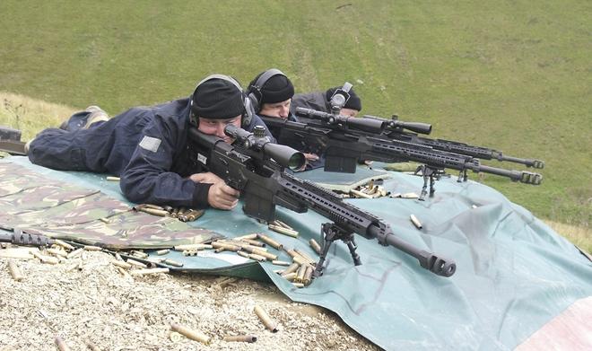 AS50 - Khẩu súng bắn tỉa 12 ly 7 hoàn hảo của đặc nhiệm Anh, Mỹ - Ảnh 2.