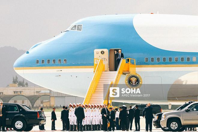 [ẢNH] Quy trình đảm bảo an toàn tuyệt đối cho tổng thống Trump tại sân bay ở Việt Nam - Ảnh 16.
