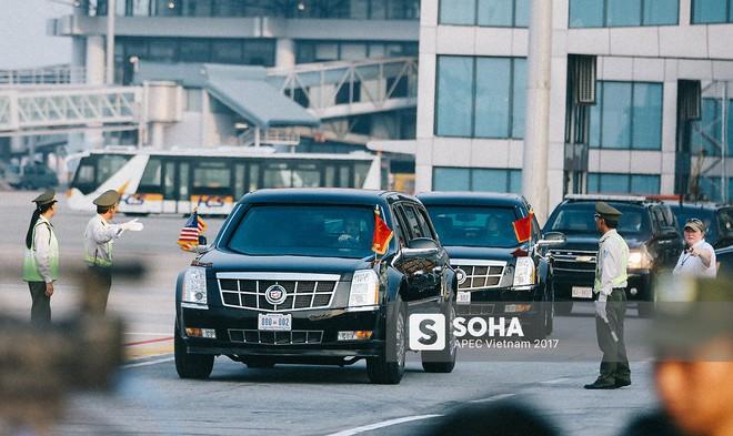 [ẢNH] Quy trình đảm bảo an toàn tuyệt đối cho tổng thống Trump tại sân bay ở Việt Nam - Ảnh 7.
