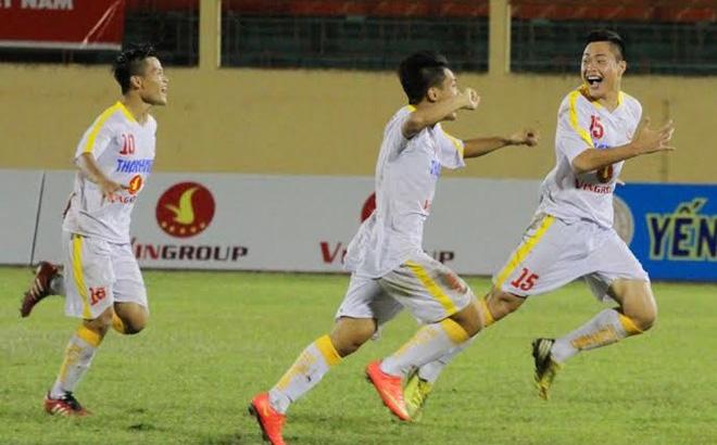 Quân bầu Hiển lên ngôi giải U19 quốc gia sau cơn mưa bàn thắng