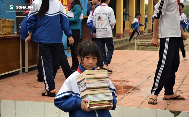 Thư viện vùng quê cho trường THCS An Châu - Thái Bình