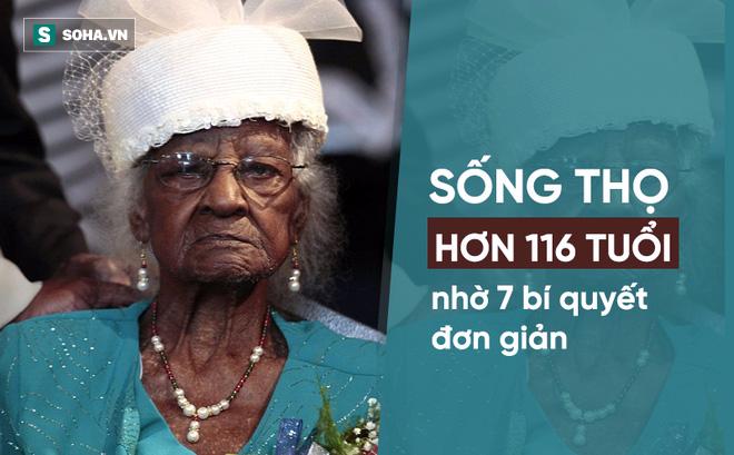 Cụ bà thọ hơn 116 tuổi nhờ 7 bí quyết bạn hoàn toàn có thể áp dụng được