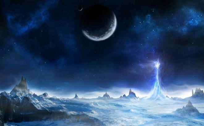 """NASA phát hiện các tháp băng khổng lồ ở dưới """"địa ngục"""" của sao Diêm Vương"""