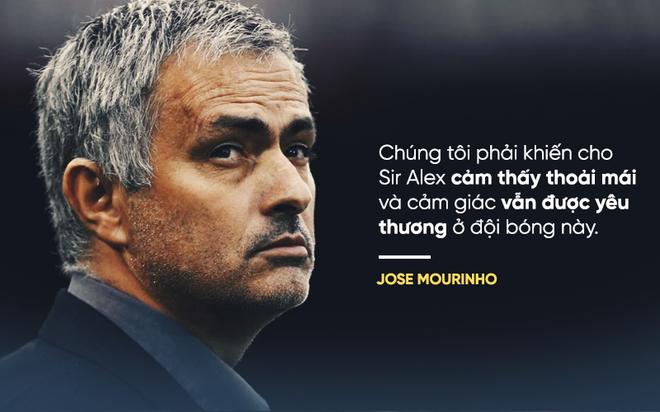Mourinho bất ngờ dùng từ nhút nhát khi nói đến Sir Alex Ferguson - Ảnh 1.