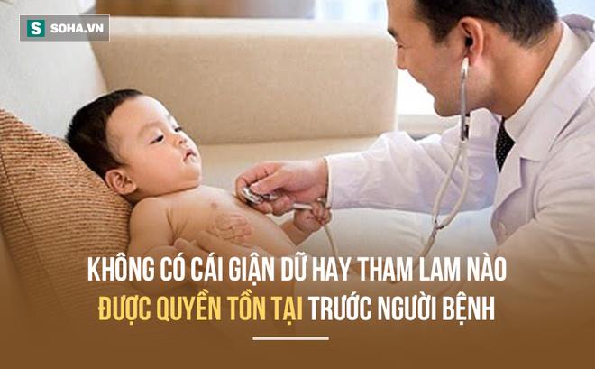 Thư gửi con trai: Làm bác sĩ phải nhẫn nhịn vô bờ bến, đừng giận dữ, dỗi hờn con trai nhé!