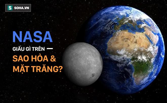 NASA che giấu văn minh trên Sao Hỏa và Mặt Trăng: Đâu là sự thật?
