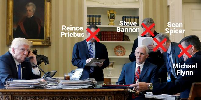 Vì sao hàng loạt nhân vật tinh hoa của nhóm ông Trump thất bại trong Nhà Trắng? - Ảnh 1.