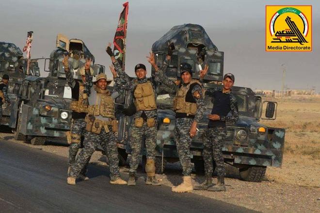Giải mật lực lượng hùng mạnh đang giúp Iraq quét sạch IS, nhưng khiến Mỹ mất ăn mất ngủ - Ảnh 2.