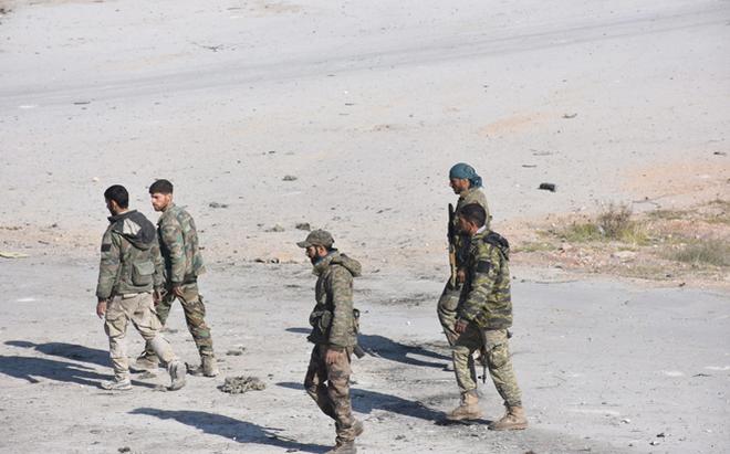 Syria tăng cường lực lượng, chuẩn bị chiến dịch quét sạch IS ở đông Homs
