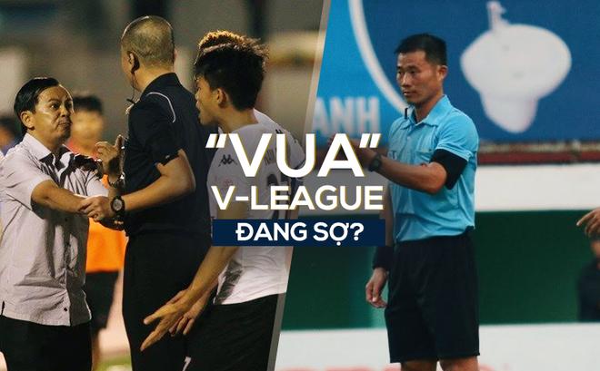 """Sau bê bối Long An, """"Vua"""" V-League đang thành chim sợ cành cong?"""