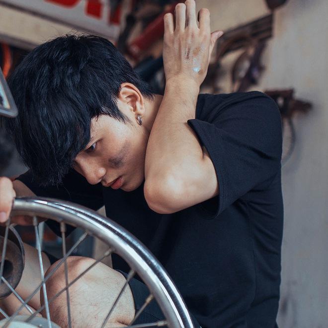 Sự thật về anh chàng sửa xe máy điển trai ở Đắk Lắk được dân mạng tìm kiếm - ảnh 4