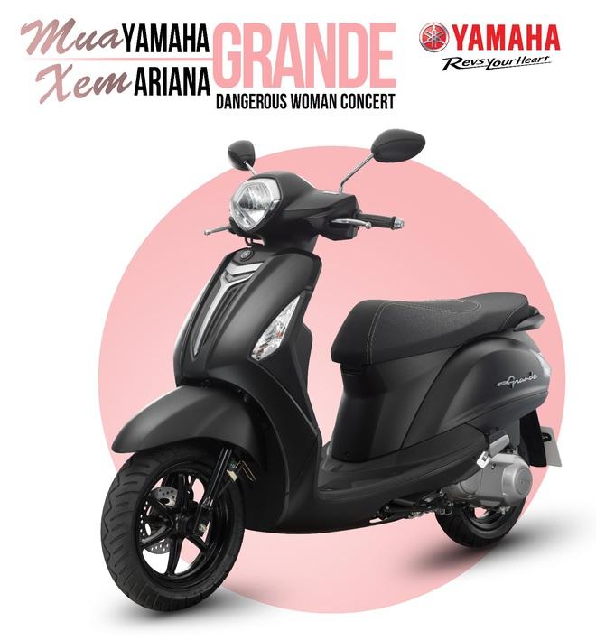 Đón bão vé miễn phí dự show Ariana Grande cùng Yamaha Grande - Ảnh 1.