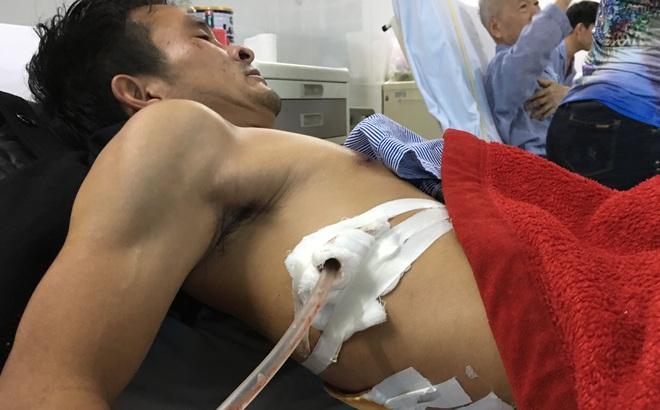 Vụ người đàn ông bị đâm khi đưa cô gái đi cấp cứu: Đã triệu tập nghi phạm