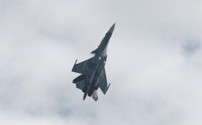 Từ Nga: Màn biểu diễn hoành tráng của các chiến đấu cơ tại MAKS 2017 - Ảnh 6.
