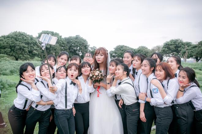 Sự thật về cô dâu duy nhất xuất hiện trong bộ ảnh kỷ yếu gây bất ngờ - ảnh 5
