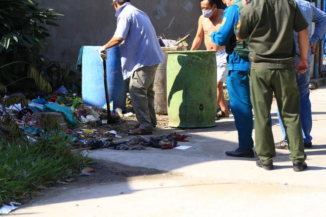Cận cảnh hiện trường vụ giết người phân xác ở Bình Dương - Ảnh 6.
