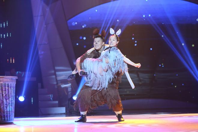 Thí sinh được Việt Hương hứa chu cấp 5 triệu mỗi tháng bị loại khỏi Bước nhảy ngàn cân - Ảnh 5.