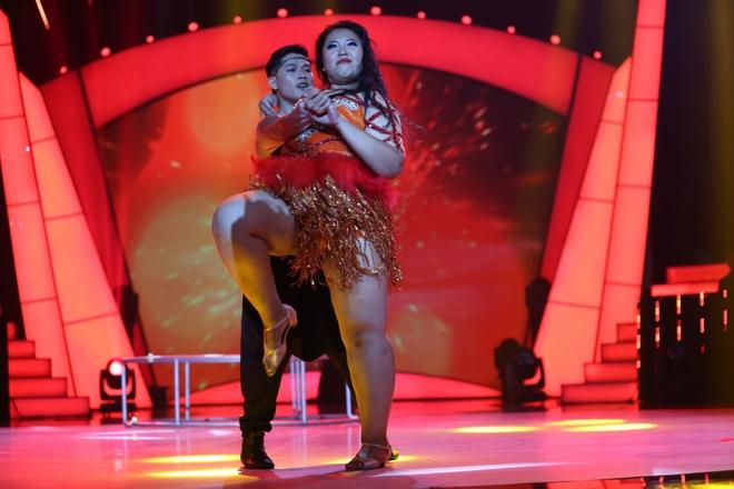 Thí sinh được Việt Hương hứa chu cấp 5 triệu mỗi tháng bị loại khỏi Bước nhảy ngàn cân - Ảnh 7.
