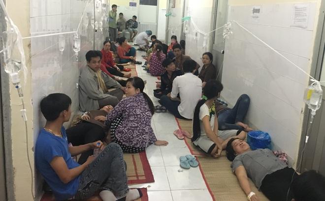 Hàng trăm công nhân đột ngột nôn ói, đau bụng, nhiều người bất tỉnh khi đến viện