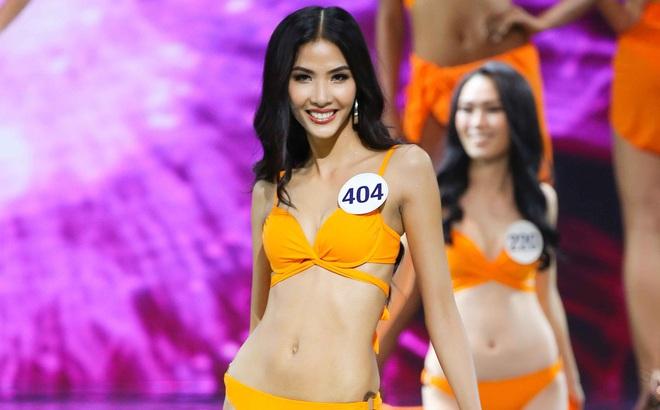 Màn trình diễn bikini nóng bỏng tại bán kết Hoa hậu Hoàn vũ Việt Nam 9929d4926d