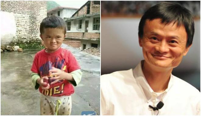 Cậu bé nghèo biến thành cỗ máy kiếm tiền, tấn công làng giải trí nhờ giống hệt Jack Ma - Ảnh 1.