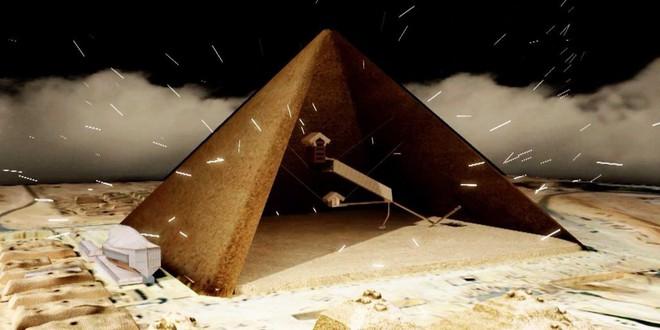 Phát hiện dòng sông thủy ngân ẩn mình dưới đáy kim tự tháp cổ - Ảnh 3.
