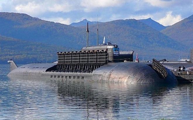 Tàu ngầm K-186 Omsk thuộc Đề án 949A (OSCAR-II). Ảnh minh họa.