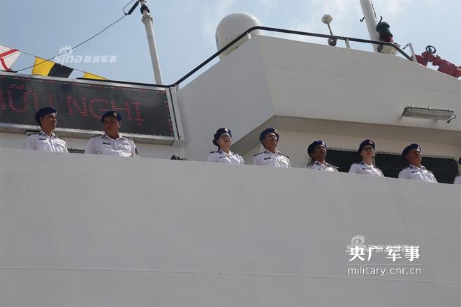 Báo Trung Quốc quan tâm tới chuyến thăm của tàu CSB 8004 Việt Nam - Ảnh 2.