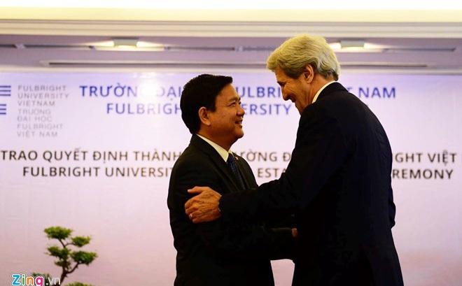 Ngoại trưởng Mỹ John Kerry đến Việt Nam tối nay