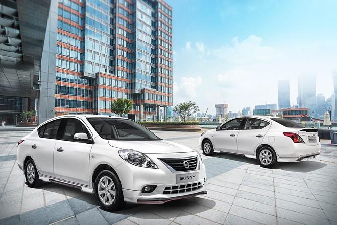 Nissan đại hạ giá chiếc sedan hộp số tự động, trở thành xế hộp rẻ nhất phân khúc - Ảnh 2.
